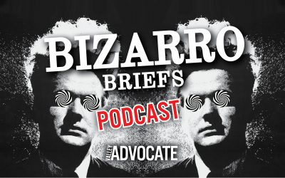 Bizarro Briefs Podcast: A hellish marriage proposal, a belligerent pig on live TV, and an epic use of a narwhal tusk