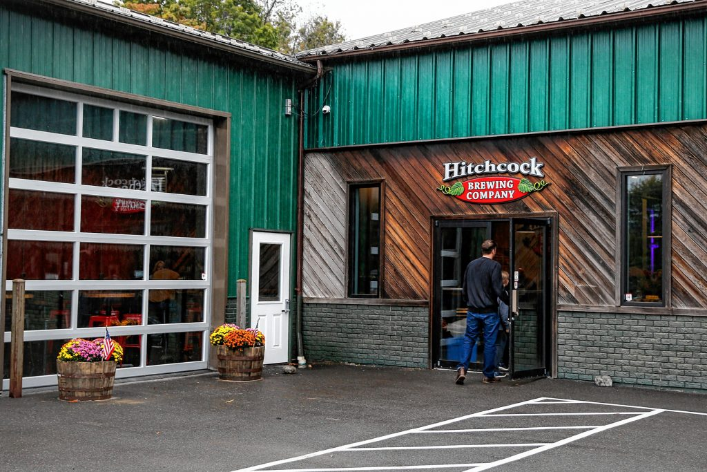 Hitchcock Brewing Company at 203 South St. in Bernardston.