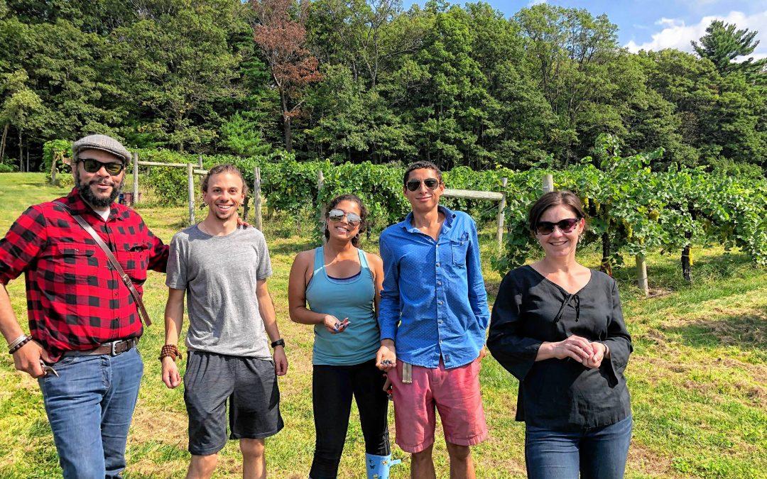 Monte Belmonte Wines: Elsa Petit, the Bordeaux-born prof teaching vine science at UMass
