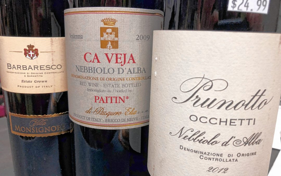 Monte Belmonte Wines: Trying to Love Italian Wine