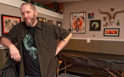 From scales to skin: Former Teenage Mutant Ninja Turtles artist Eric Talbot talks about his move to tattoos