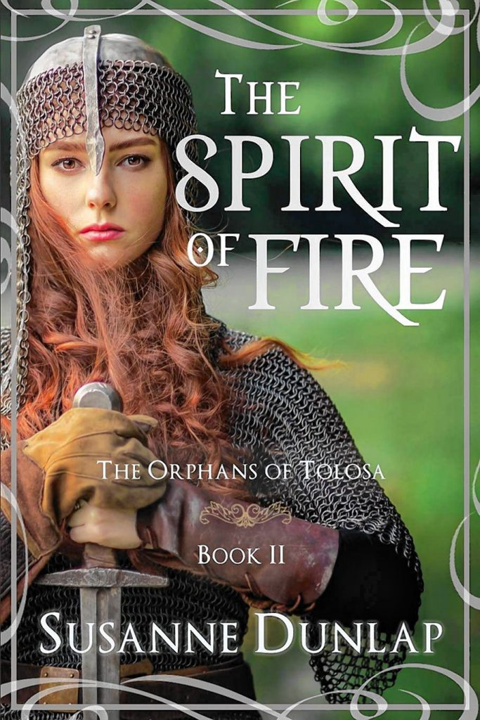 "Susanne Dunlap's newest book, ""The Spirit of Fire,"" is part of a trilogy set in medieval France that Kirkus Reviews calls ""complex and absorbing."""