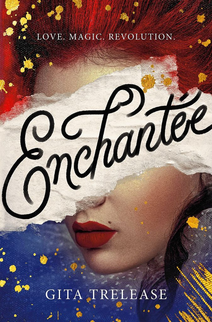 "Trelease's debut novel, the YA title ""Enchantée,"" is set in Paris in 1789 and also incorporates elements of fantasy."