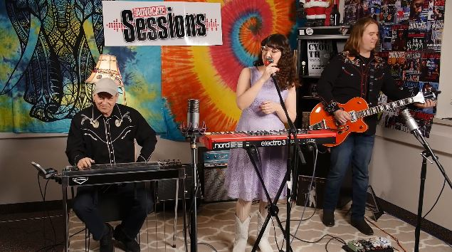 Rosie Porter and the Neon Moons on the Valley Advocate Sessions Stage