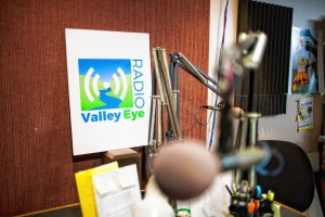 Valley Eye Radio's studios in Springfield.