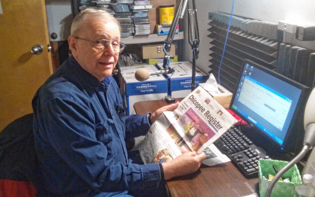 Reading for a cause: Valley Eye Radio volunteers read news for those who can't read it themselves
