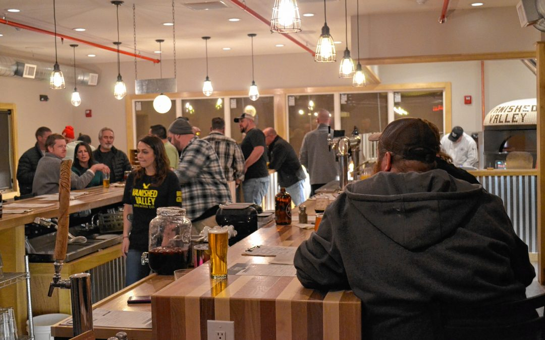 Beerhunter: Vanished Valley opens new taproom and kitchen in Ludlow