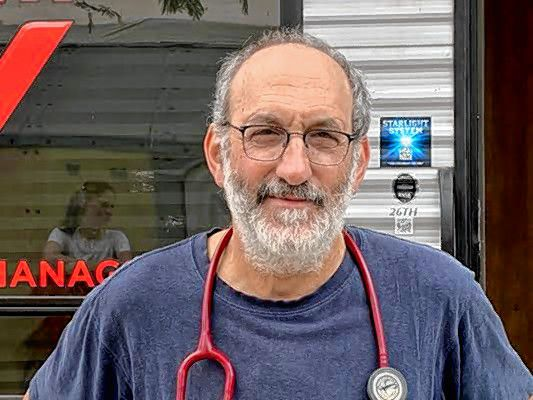 'It's sort of hanging over everything': Local doctor volunteering at Mexico border talks about coronavirus concerns at refugee camps