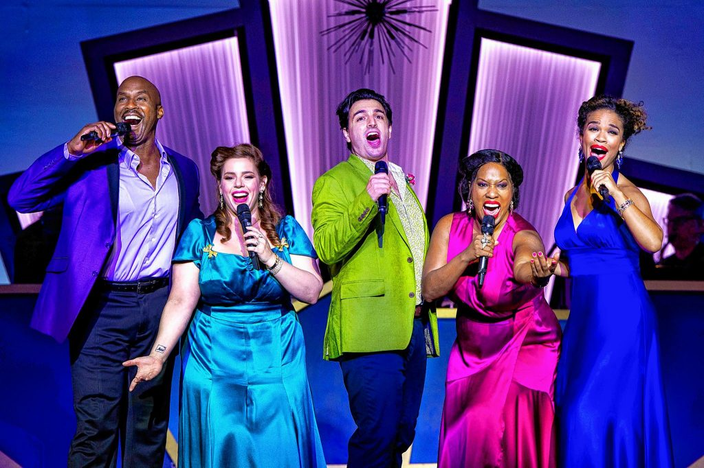 """Barrington Stage Company opened with """"Who Could Ask for Anything More? The Songs of George Gershwin,"""" playing through July 3rd. It's a big, brassy cabaret-cum-celebration — just the tonic for emerging from the long dark season."""