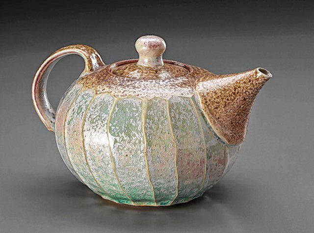 A faceted teapot by Maya Machin. The Hilltown 6 Pottery tour is scheduled in person and online for late July.