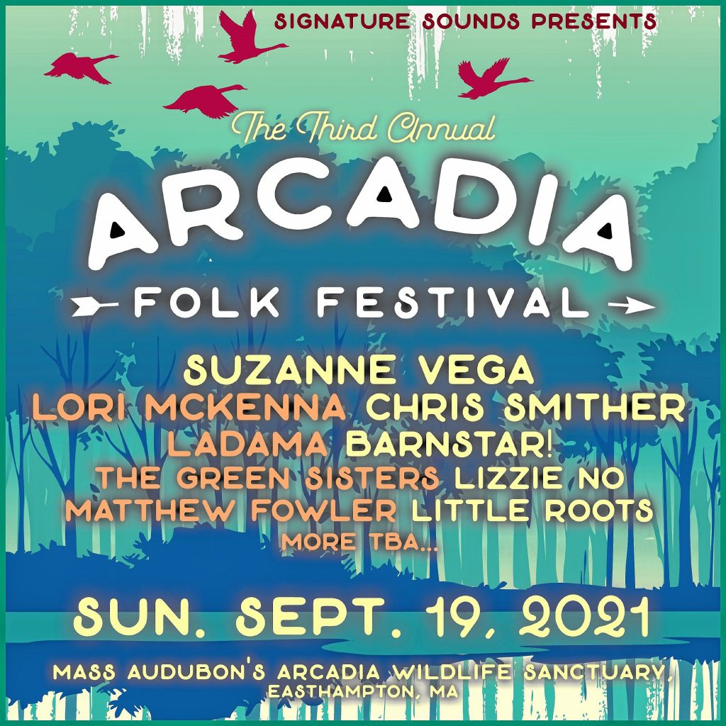 The third annual Arcadia Folk Festival is scheduled for Sept. 19.