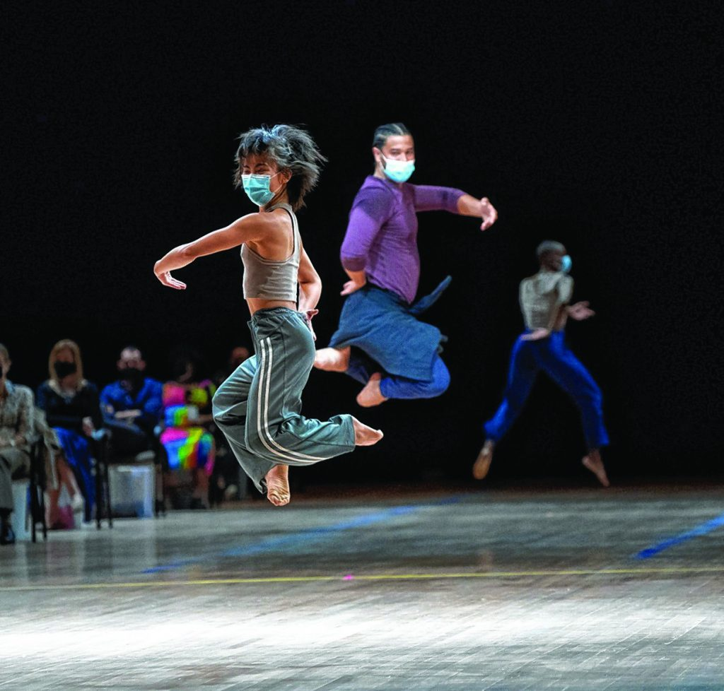 """The UMass   Fine Arts Center's dance season will include """"Afterwardsness,"""" a new work from the Bill T. Jones/Arnie Zane Company """"that places the audience in an immersive environment with the dancers."""""""