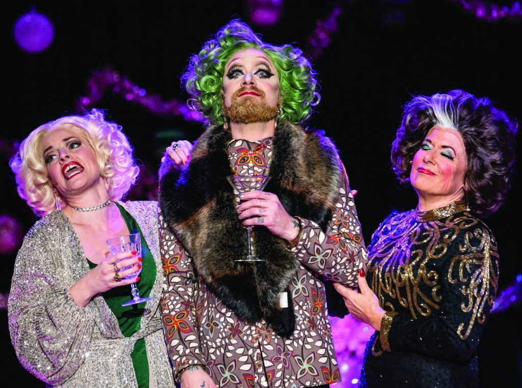 """Mr. Drag and the Drag Sisters will star in """"The Drag Sisters: Back Where We Belong,"""" Sept. 10-11 at the Shea Theater."""