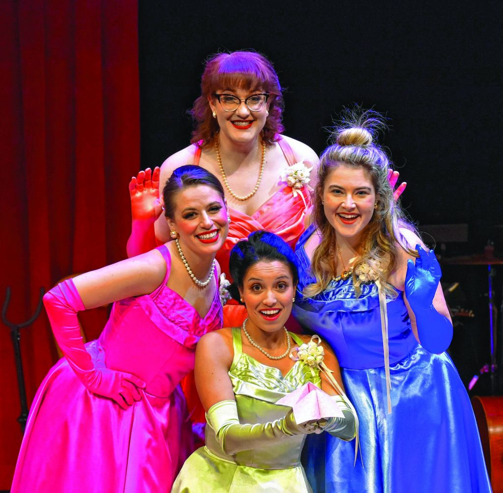 """The Majestic Theater opens its 2021-22 season with """"The Marvelous Wonderettes: Dream On."""" Opening Sept. 9, the show is a sequel to the first Wonderettes, which the theater staged in 2019. Like the original, it's a jukebox musical built around girl-group hits of the Fifties and Sixties."""